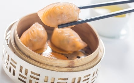 Tips about eating dim sum include not serving food to other people with your chopsticks: they may not want to share your saliva. Photo: Bloomberg