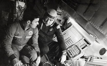 The South China Morning Post reported on the Soviet Union sending two cosmonauts to the space station Salyut 6 in the early hours of December 11, 1977.