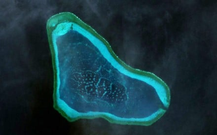 The Scarborough Shoal off the western coast of the Philippines is seen as a strategic point among the claimants because it is within easy striking distance of US forces stationed in the Philippines. Photo: Wikipedia