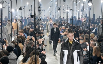 Lanvin features utilitarian chic while Kenzo jazzes things up with colours