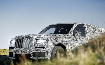 Rolls-Royce is also expected to launch its first SUV, Cullinan, later this year.
