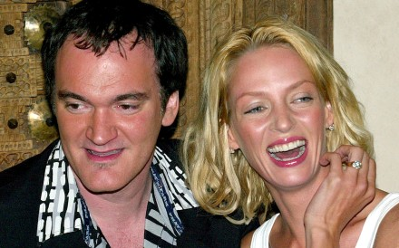 US director Quentin Tarantino with Uma Thurman during the promotional tour for Kill Bill: Volume 1 in 2003. Photo: Reuters
