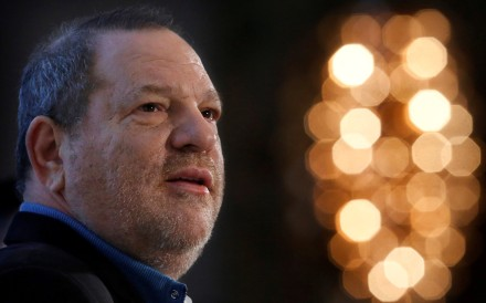 Harvey Weinstein speaks at the UBS 40th Annual Global Media and Communications Conference in New York, on December 5, 2012. New York state has filed suit against the disgraced film producer for violations of civil and human rights and business law. Photo: Reuters
