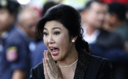 Deposed Thai Prime Minister Yingluck Shinawatra arrived in Hong Kong on Tuesday as it has no extradition treaty with Thailand, according a source. Photo: AP