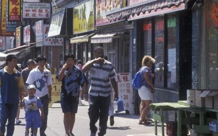 Toronto's Chinatown had problems with secret society gangs. Photo: Newscom