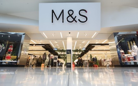 British fashion brand Marks & Spencer announced in January that it would end online sales in China through its store on Tmall – this after closing all its brick and mortar stores in the country in 2016. Photo: Bloomberg