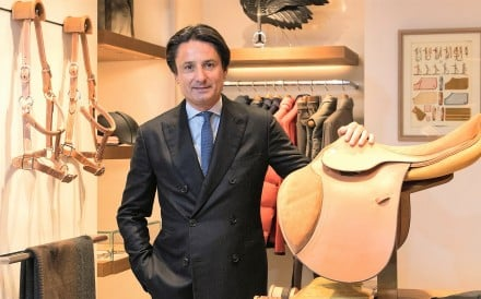 Hermes CEO Axel Dumas is the sixth generation of the family to run the company.Photo: Handout