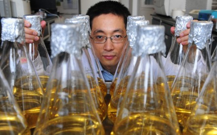 Biophysicist Shi Yigong is leading Westlake University's preparation team. Photo: AFP
