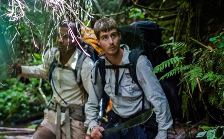 Ash Dykes walking the length of Madagascar. This summer he will embark on a longer journey to be the first person to walk the length of Yangtze. Photos: Handout
