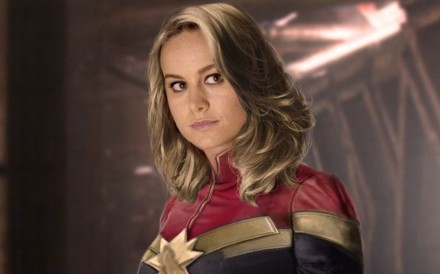 Brie Larson stars as Carol Danvers/ Captain Marvel