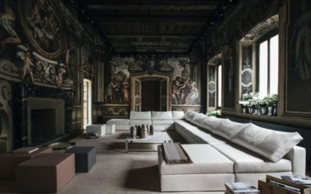 High-fashion brand Bottega Veneta's new collection of furniture and furnishings were unveiled at the trade fair Salone Del Mobile 2018 in Milan. Photo: Bottega Veneta