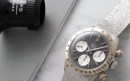 Rolex Daytona ''The Unicorn' in 18ct white gold. Photo: CNBC