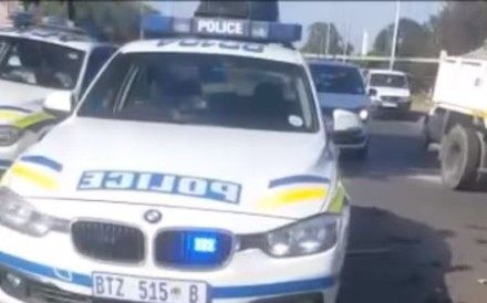 Security experts quoted in South African media said the way the assailants behaved and handled the weapons suggested they had military backgrounds. Photo: YouTube