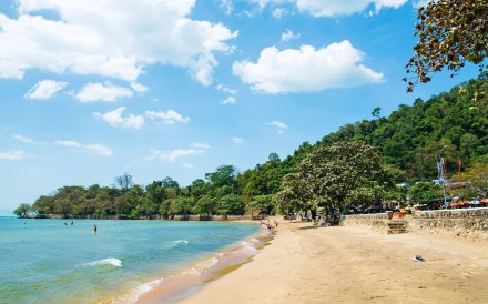 Kep Beach in the southern Cambodian town of Kep looks out onto the Gulf of Thailand. Photo: Alamy