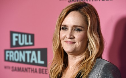 "Samantha Bee, is under fire for referring to Ivanka Trump as a ""feckless c***"" on her TBS comedy show. Photo: AP"
