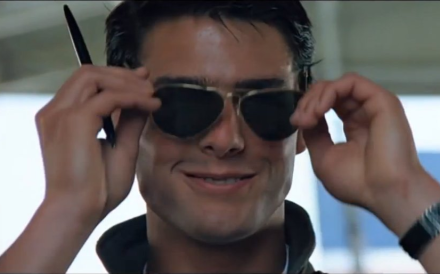 "The new ""Top Gun"" won't feature the US Navy's top fighter jet. Photo: YouTube/movieclips"