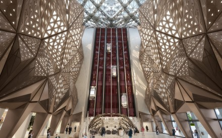 The stunning interior of Macau's Morpheus hotel, at the City of Dreams in Cotai, which was one of the final projects designed by the late architect Zaha Hadid.