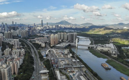 Shenzhen is one of the nine cities covered by the central government's Greater Bay Area plan. Photo: Roy Issa