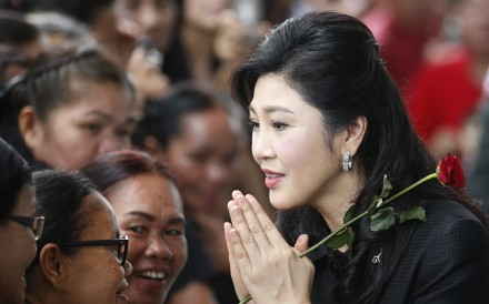Former Thai prime minister Yingluck Shinawatra. Photo: EPA