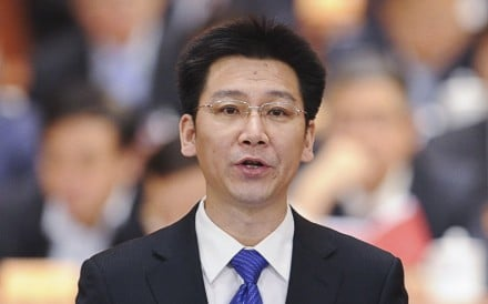 He Junke has been named the first secretary of the Communist Youth League. Photo: Xinhua