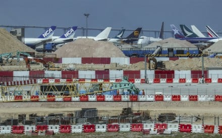 Construction fee levied to help pay for expansion – including third runway – had been expected to raise HK$26 billion