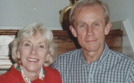 Richard Richter and his wife Joan. Photo: Handout