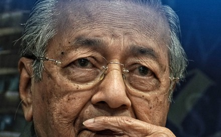 Mahathir Mohamad, Malaysia's prime minister. Photo: Bloomberg