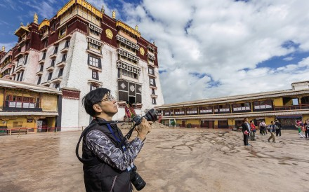 Hong Kong photographer-businessman Eddy Li, who has published a book, 'Belt and Road', which is a photographic record of everyday scenes in nations in Asia, Africa and Europe that will be linked by China's 'Belt and Road Initiative'.
