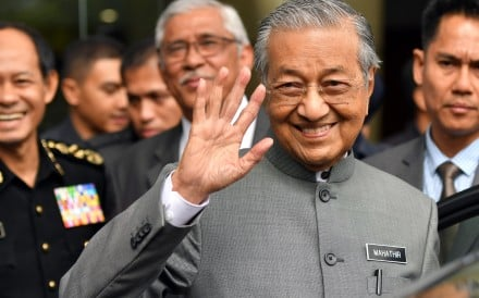 Malaysian Prime Minister Mahathir Mohamad turned 93 on Tuesday. Photo: Xinhua