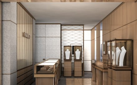 Mikimoto's new shop in Harbour City