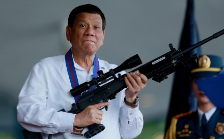 Philippine President Rodrigo Duterte says he will cancel Landing International Development's casino project in the country. Photo: TNS