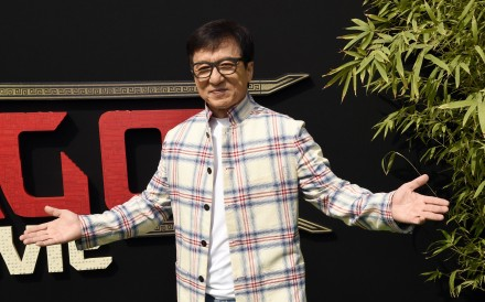 "Jackie Chan hoped his book could ""bring pleasure and inspiration to people with disabilities"". Photo: AP"