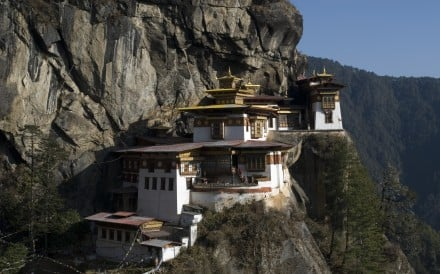 The Tiger's Nest monastery, one of Bhutan's most famous attractions. Photo: ACT Travel
