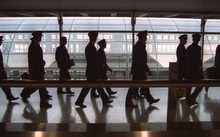 Heading for the exit? The survey suggested staff turnover may be an issue for Cathay Pacific. Photo: SCMP Pictures