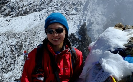Intensive care doctor in Hong Kong who sees patients close to death and regretting things they haven't done is determined to live life to the fullest, and test her limits, on peaks of the Himalayas