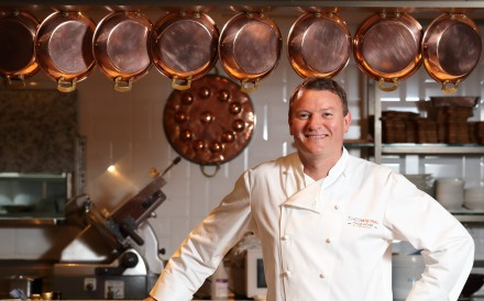 'I was once told that Hong Kong is where the big boys play,' says chef Theo Randall at Theo Mistral, in the InterContinental Grand Stanford hotel.