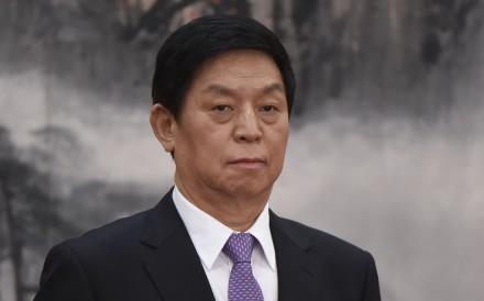 Li Zhanshu will attend the 70th anniversary of North Korea's founding on Sunday. Photo: AFP