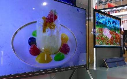 Newest TVs have resolution four times higher than 4K screens, but you'll have to get within a metre of them to tell the difference