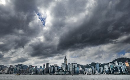 The Hong Kong government held an interdepartmental meeting to discuss preparedness for the oncoming storm. Photo: Dickson Lee