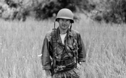 Derek Maitland was 24 when he began reporting from the Vietnam War. Picture: Derek Maitland
