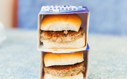 White Castle's Impossible Burger sliders, which are plant-based but meant to imitate meat, are one of the best vegan fast-food choices out there. Photo: Business Insider