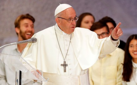 Pope Francis. Photo: Reuters