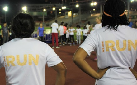 RUN helps refugees by encouraging them to get outdoors and gives them a sense of community. Photo: Handout