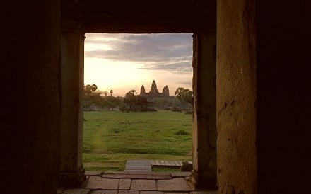 Sunrise at Angkor Wat, a sight not to be missed. Photos: Cedric Tan