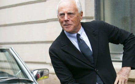 Armani is one of the richest people in fashion. Photo: Reuters