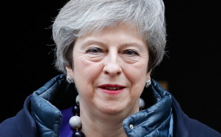 Britain's Prime Minister Theresa May. Photo: AFP