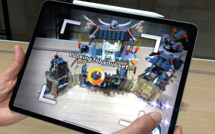 The new 12-inch iPad Pro – unveiled in New York on Tuesday – can cope with processor-intensive tasks, such as augmented reality (AR) applications, but one analysts predicts next year's version will feature a different high-quality 3D camera for AR use. Photo: Kif Leswing