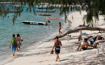 A beach on Koh Tao. Photo: Reuters