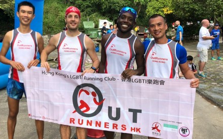 (From left): Henry Chu, Yannick Asselin, Nic Jarrett and Alex Chong hope to inspire members of their community to be visible. Photos: Ben Young