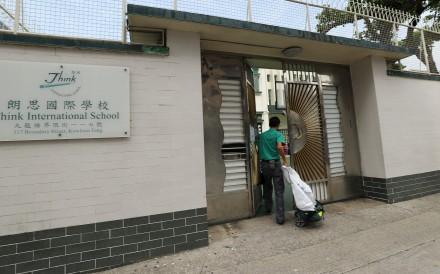 The pupils will move to Think International School. Photo: Edward Wong